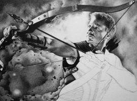 Hawkeye WIP by marchesme