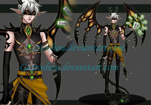 MALE ADOPT 135 [Auction] [CLOSED] by GattoAdopts