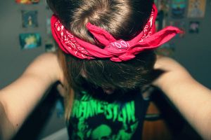 red bandana by chelsea-martin