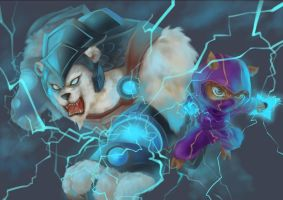 Volibear and Kennen by ShadowLC