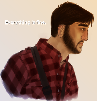 Everything is fine. by CuryPotato