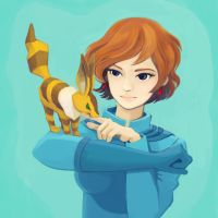 nausicaa of the valley of the wind by jupiterronronne