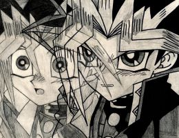 Yami and Yugi 3 by shurtugalgeek