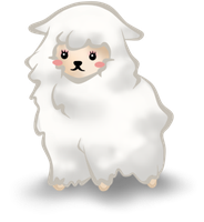 Chibi Grirly Sheep by SoulEevee99