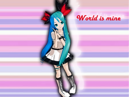 World is mine! Miku Download by sofushka9