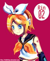 vocaloid rin by friditititaa