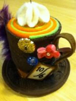 Mad Hatter Teacup by PandoraLuv