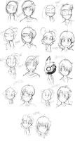 OCs Humanized - Males (Open to Roleplay) by MrDonJohnnyCadetSir