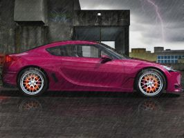 Toyota FT-86 Concept by bobitsek