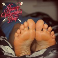 Valentine Feet III by Dimitri4ever