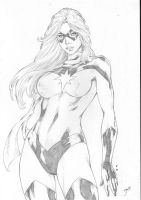 Miss Marvel by Deilson