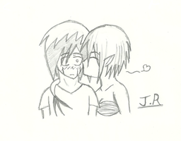 Just a little kiss (Jazzy Request) by JackRaikov