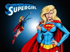 Supergirl Showcase by Tom Grummett by Superman8193