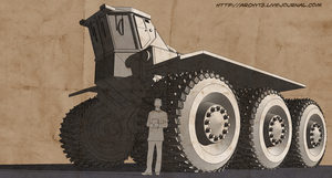 Suzdal martian heavy tractor by archy13