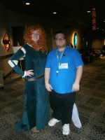 Me and Merida by enterprisedavid