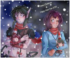 +Merry Xmas and Happy New Year+ by Priss-BloodEmpress