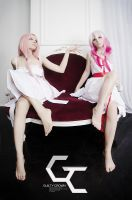 Guilty Crown :: Mana x Inori pt.2 by UselessDevice