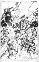 INJUSTICE: GODS AMONG US Issue 5 Cover Pencils by DrewEdwardJohnson