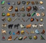 Pillars of Eternity item icons by tigrin