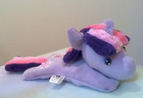 Twilight Chibi Bean Plush by NerdyMind