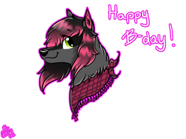 Happy B-Day, Lillka!!~~ by Pixel-Candy