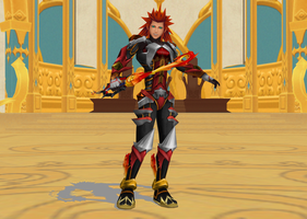 Axel, Knight Of Blazing Flames 02 by todsen19
