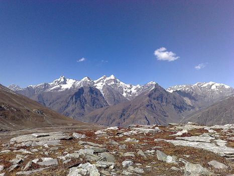 wide landscape of himalaya by ThauChengCha
