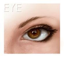 Eye Study by E-tane