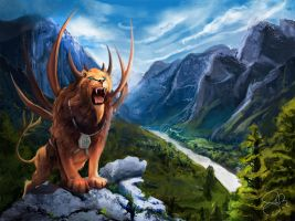 King of the Mountains by shellz-art