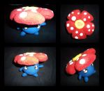 Vileplume Plush by fireflytwinkletoes