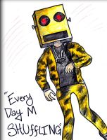 Everyday M Shuffling by KahlaWolf