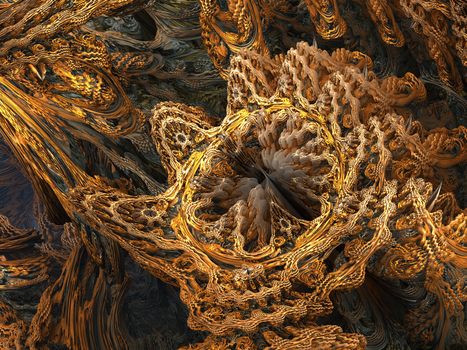 mandelbulb flower by nozebo