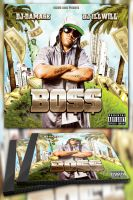 Boss Mixtape Template / Flyer or Album Cover by MadFatSkillz