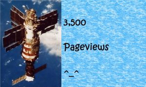 3,500 Pageviews by Bahamut-255