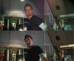 Tony Stark in IronMan 3 movie by ViNeves
