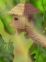 Jungle Treehouse by BrandonSPilcher