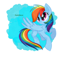 Rainbow Dash The Best Pegasus by MysticNuryn