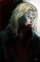 Zombie!Thor by Anstay