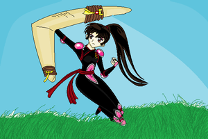 Sango the Demon Slayer by hanyou-lover1
