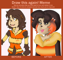 Draw this again! Meme by Flylittlemoon