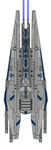 Mass Effect SpecOps Command Ship Elbrus by Seeras