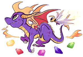 spyro by homosocks