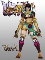 USFIV Juri Han Lynx Outfit for XPS by KSE25