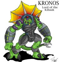 Kronos: lord of the Kiliaak by Blabyloo229