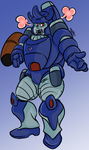 galvatron by RedsReddie