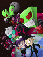 Invader Zim: To Conquer and Destroy by Sound-Resonance