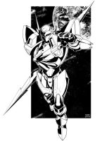 Tekkaman Blade INK by dymartgd