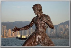Status of Bruce Lee by hk-Edwin