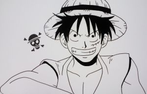 SuperCon Poster: Monkey D Luffy by starbuxx