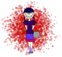 Contest Entry - Obsessed Girl by WeirdLittleZombie